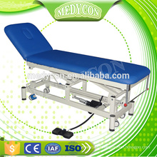 Medical examination couch with electric motor
