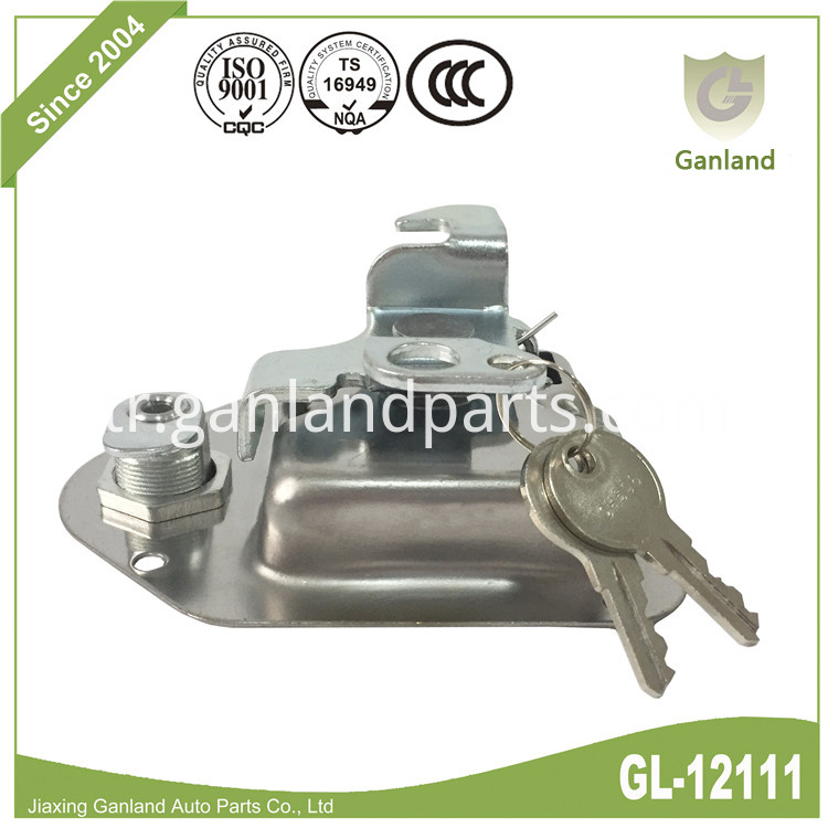 Lockable Flush Mount paddle lock GL-12111