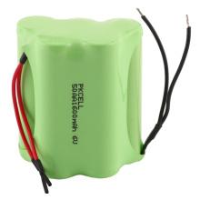 Hacer varía el voltaje ni-mh AA 1600mah Paquete de baterías recargables