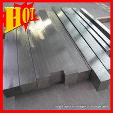 ASTM B348 Titanium Grade 5 Square Bars / Rods en China