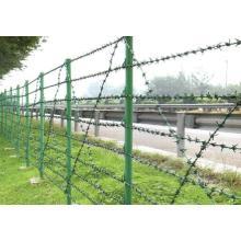PVC beschichtetes verzinktes Eisen Stacheldraht für Zaun