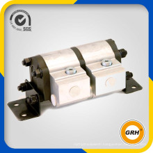 2 Sections Hydraulic Power Gear Motor Rotary Flow Divider