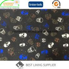 Mode 100% Polyester Print Futter für Männer Anzug