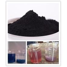 Chine charbon actif de poudre à base de bois de catégorie comestible de haute qualité utilisé dans la pharmacie