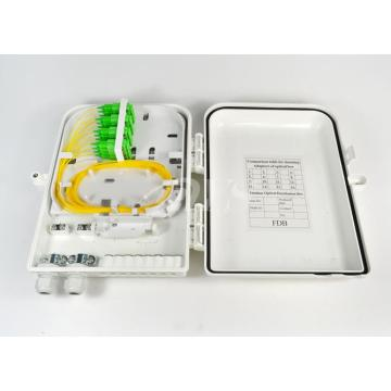 Fttx Fc 12 Port Telecom Fiber Distribution Box