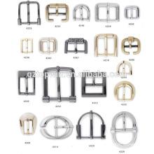 Topwin Fabrik benutzerdefinierte quadratische Tri-Gleit-Metall Handtaschen verstellbare Schnalle