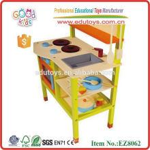 Новый стиль детей игрушка Кухня Play Set, Высокое качество деревянных детей Кухня Set