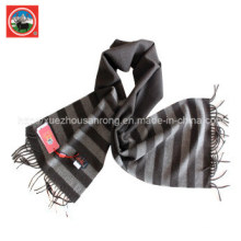 Pure Yak Wool Lattice Scarf/ Cashmere Garment/ Yak Wool Clothing/Fabric/Textile/Knitwear