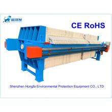 Automatic filter cloth washing filter press