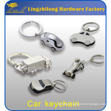 Factory Price Silver 3D Samll Car Shaped Keychain