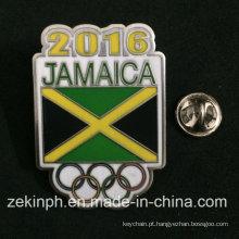 Baixo Preço Jamaica Metal Badge