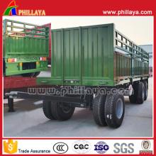 2 Ejes 8 Neumáticos Transporte de Productos Agrícolas Remolque Completo