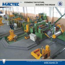 Европейский стандарт металла рифленая Автоматическая машина slitter