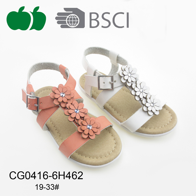 High Quality New Design Little Girl Sandals