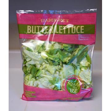 Clear Fresh Vegetables Packaging Plastic Bag