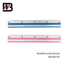Regla plástica de los efectos de escritorio de los 20cm PS para el suministro de oficina