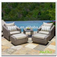 Audu Outdoor EUA Popular assento de jardim de vime