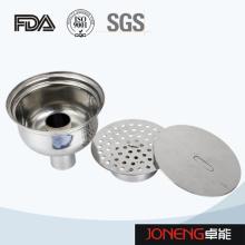 Égout de plancher de qualité alimentaire en acier inoxydable L (JN-FD1001)