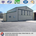 New Zealand Certificated Prefab Steel Aircraft Hangar