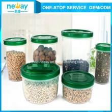 Китай производитель дешевые пластиковые банки Китай пластиковых Jar