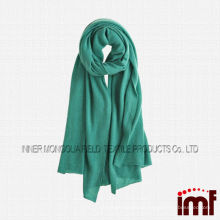 High Quality Pure Mongolia Cashmere Scarf Solid Color Turquoise Kashmiri Shawls
