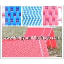 Plain Weave Flat Yarn Fabric Conveyor Belt Mesh