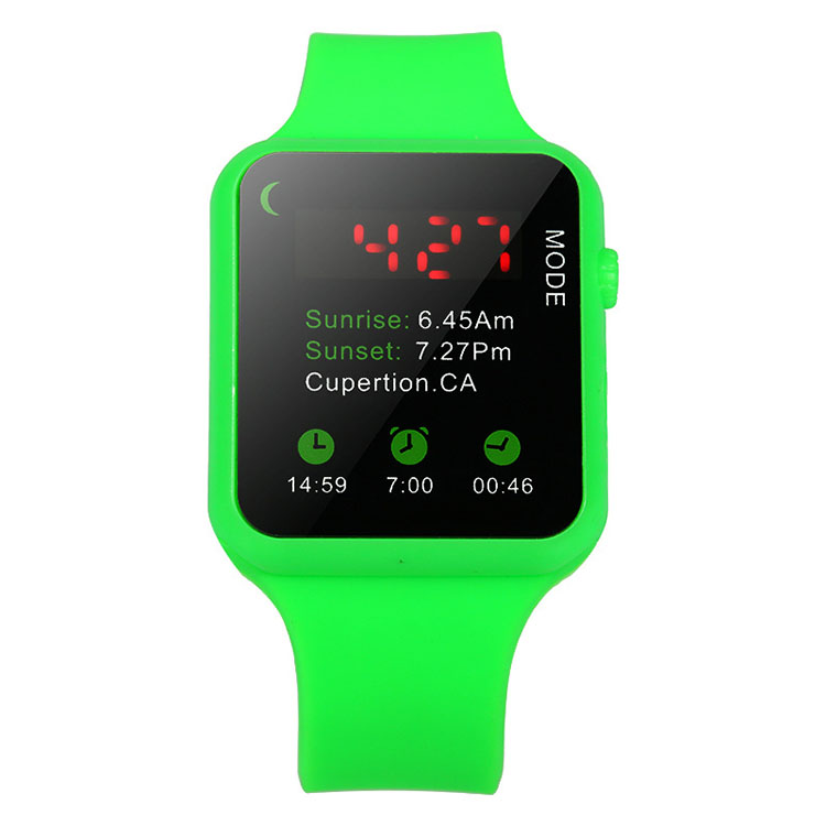 Popular Boys Silicone LED Digital Watch