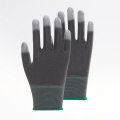 ColorStripes PU Thumb Fully Coated Work Gloves