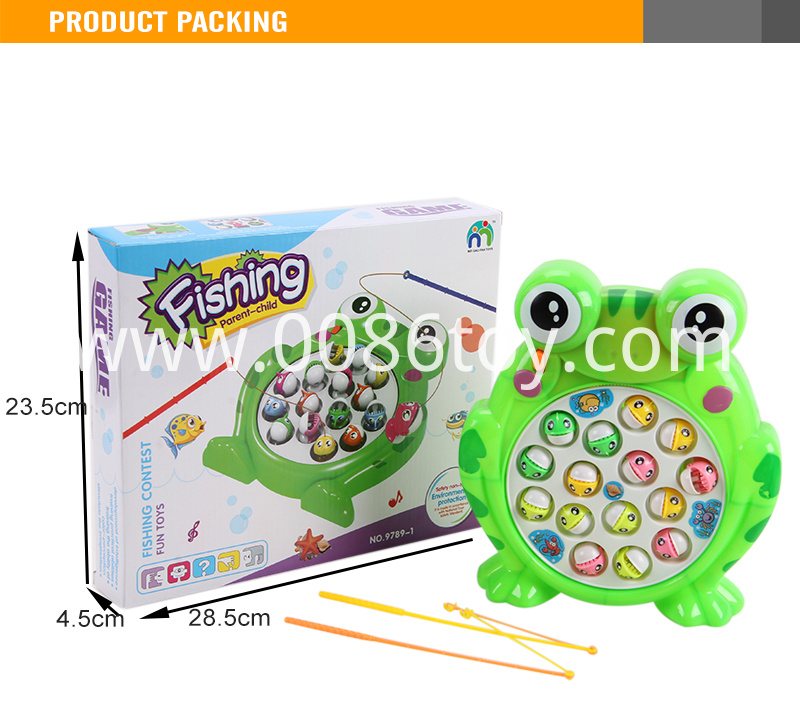 Frog fishing game machine