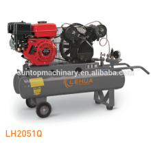 gas 5.5hp 35l air compressor with two tanks
