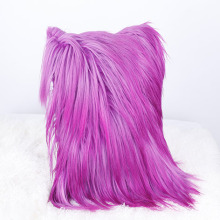 2018 Venta al por mayor Perfect Goat Leather Cushion Cover