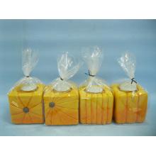 Kürbis Kerzenständer Form Keramik Handwerk (LOE2366-B7z)
