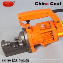 Cintreuse ronde manuelle électrique de coupeur de Rebar de barre en acier portative électrique