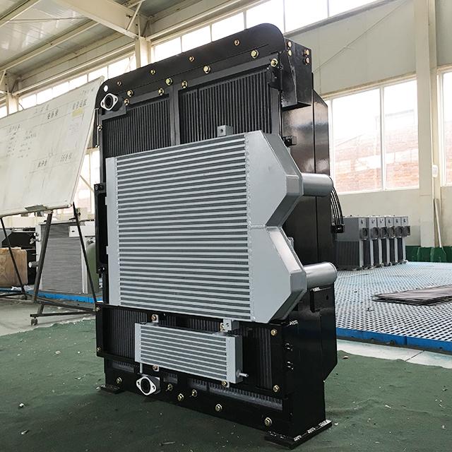 Combined Heat Exchanger