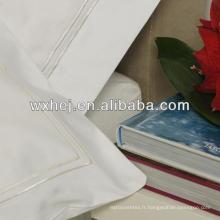 oreiller blanc de micro pêche
