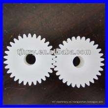 0.8 módulo pequeño engranajes POM Engranajes de plástico