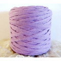 Purple T Shirt Yarn Crochet Yarn Polyester Yarn in China