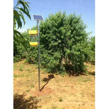 Lampe insecticide vibratoire à fréquence solaire