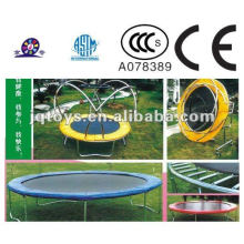 XF1105 Children Plastic Sports Trampoline With Closure Net