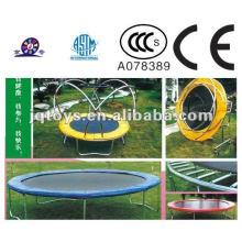 XF1105 crianças plástico esportivos trampolim com fechamento net