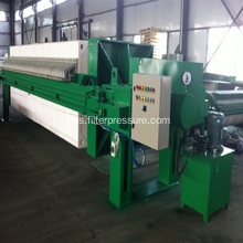 PLC Control Automatic Filter Press para papel industrial