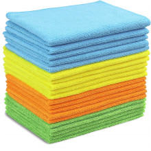 Thick Warp Knitting Microfiber Car Cleaning Cloths