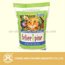 Custom made soft plastic stand up cat food bag/dog pet food pouch bags