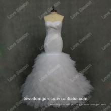 RP0101 Fornecedor de fábrica 100% tecido real TULL para vestidos de noiva Vestido de noiva Vestido de noiva Vestido de casamento 2015