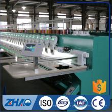 ZHAO921 flat com máquina de bordar computadorizada com dois sequin