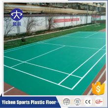 Portable Synthetic Badminton Court Flooring from China