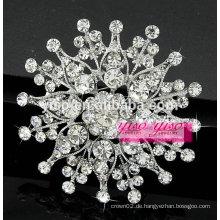 Sterling Silber Blumen Brosche