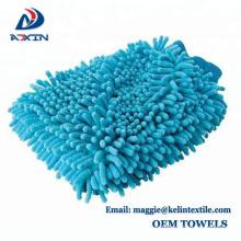 Auto en peluche super longue auto détaillant microfibre chenille lave-auto mitt nettoyage gant