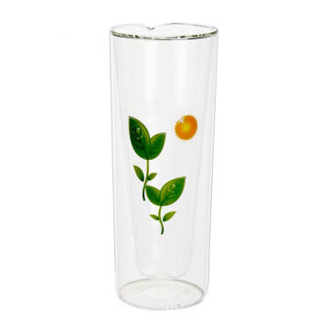 Hot Selling for Glass Tea Mug Double Wall Custom Glass Mug For Loose Tea supply to Lesotho Exporter