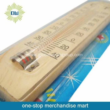 Hot selling wall hanging temperature plastic thermometer